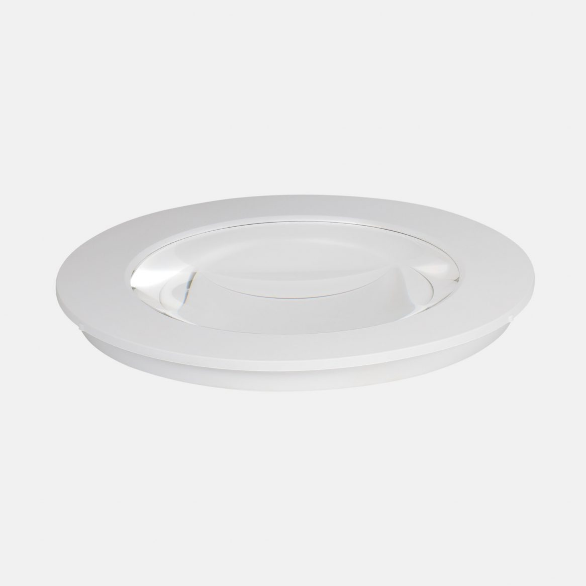 5 dioptres lens - White rim