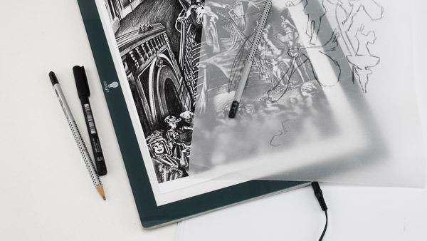 drawing light