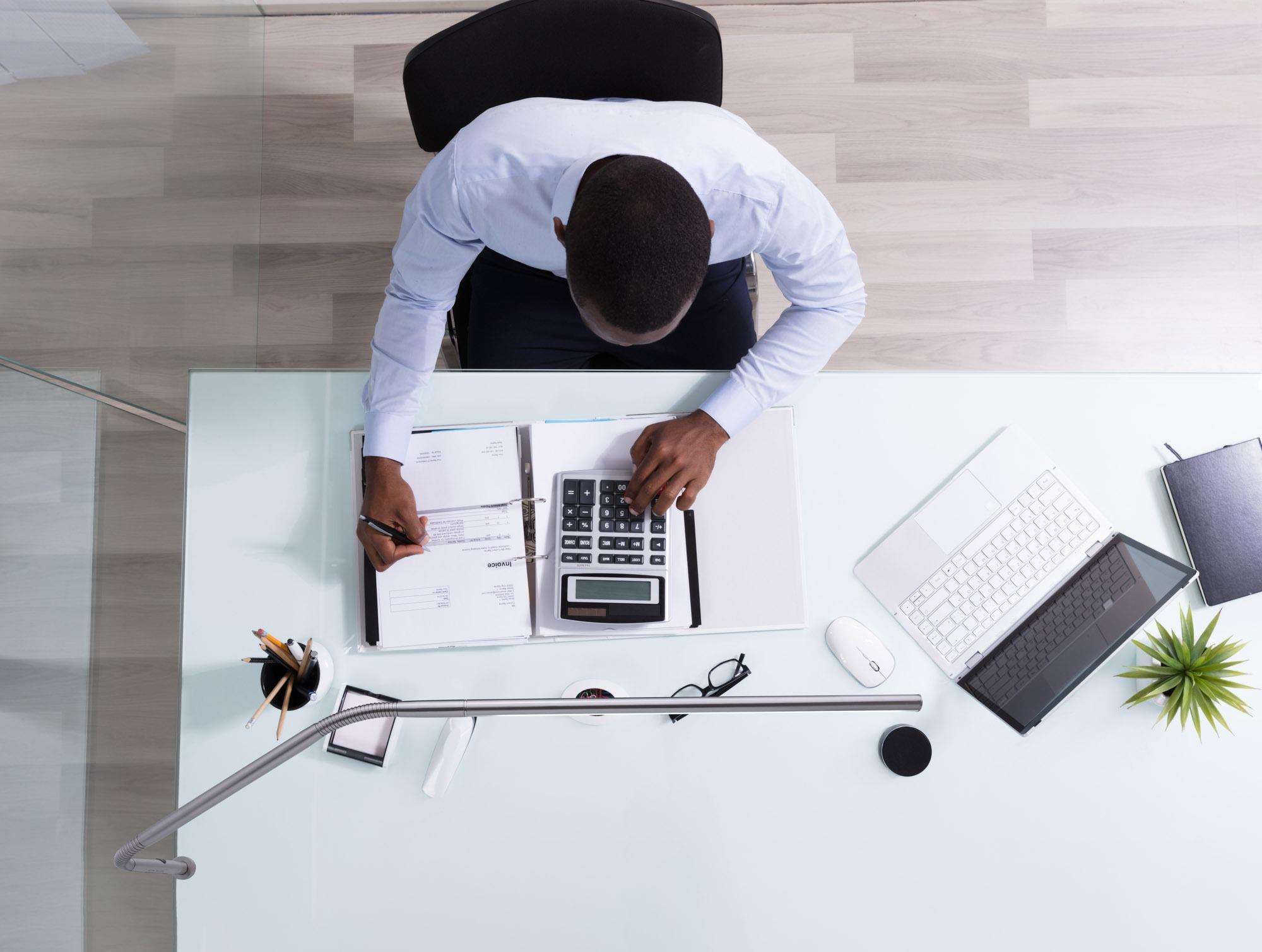 Slimline 3 Table office desk Lamp