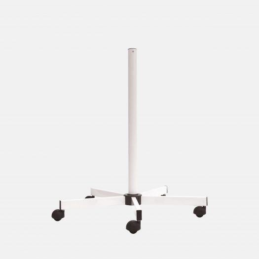 53070 Support à roulettes standard - Blanc