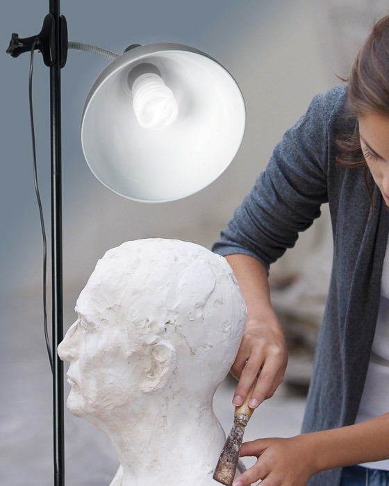 daylight lamp for artists
