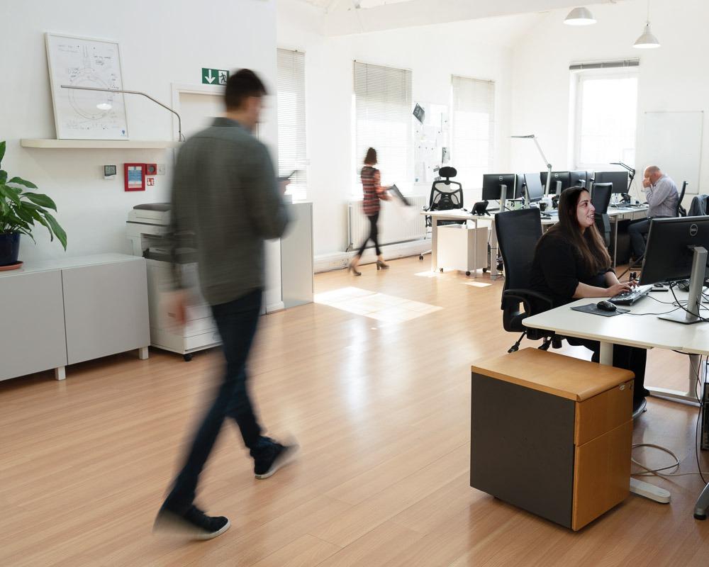 daylight company's office, making daylight lighting